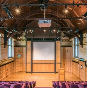 Bateman Auditorium, Caius College, Cambridge square