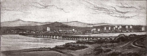 Dundee etching