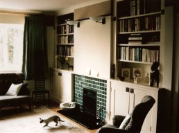 Fireplace and bookcases, Teversham