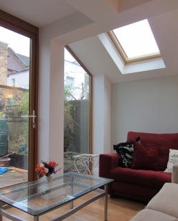 Flat extension, London 2