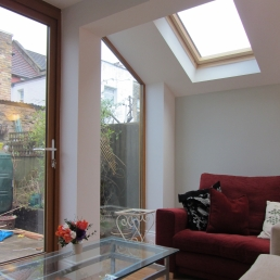 Flat extension, London