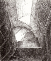 Gatteville Lighthouse stair