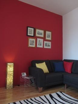 Living room, Hope Street, Glasgow 1